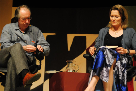 Ian McEwan e Jennifer Egan